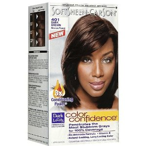 dark lovely coloration color confidence - Coloration Chatain Fonce