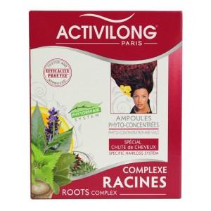 Activilong Complexe Racines Ampoules phyto-concentrées spécial chutes de cheveux
