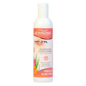 Activilong Natural touch Shampooing -Conditionneur Hibiscus Aloe vera Bio -250ml