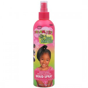 African Pride - Dream Kids Spray  Apaisant et hydratant Soothing Moisturizing Braid Spray