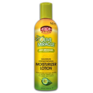 African Pride  Lotion hydratante -  Olive Miracle Maximum Strengthening Moisturizer Lotion