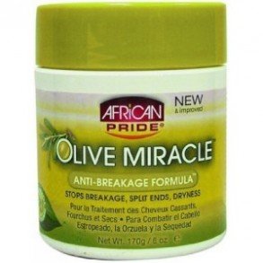 African Pride  Olive Miracle Anti Breakage Formula