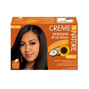 Creme of Nature  Kit Défrisage Nourishing No Lye Relaxer - Regular