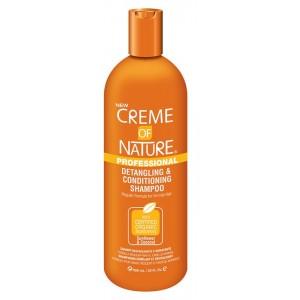 Creme of Nature  Shampooing Démêlant et Revitalisant  (Sunflower & Coco) – 946ml