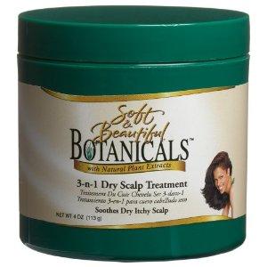 Soft & Beautiful Botanicals 3 n 1 Dry Scalp Treatment