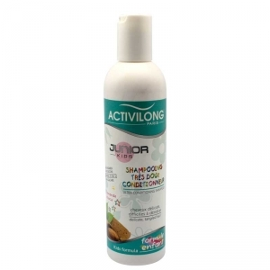 Activilong Junior  Shampooing très doux conditionneur à l'amande douce - 250 ml