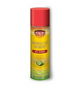 African Pride Miracle Sheen  - Oil Sheen Spray
