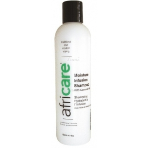 Africare Moisture infusion-shampoo - Shampooing hydratant à l'huile de coco - 240ml