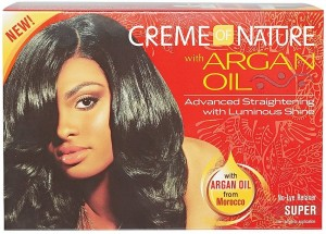 Creme of Nature Argan Oil No Lye Relaxer - Super
