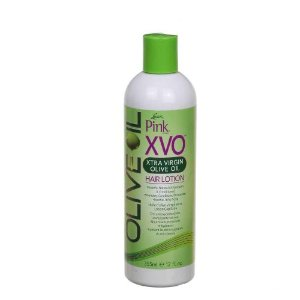 Lotion Capillaire à l'Huile d'Olive Vierge Extra Pink XVO 355ml