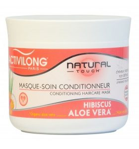 Activilong Natural Touch  Masque-soin conditionneur Hibiscus & Aloe Vera Bio – 250ml