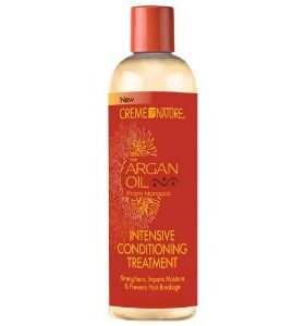 Creme of Nature  Soin intensif à l huile d'argan -Intensive Conditioning Treatment - 354ml