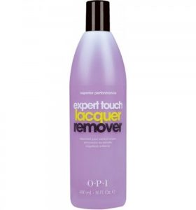 OPI Dissolvant pour vernis a ongles expert touch - 120ml