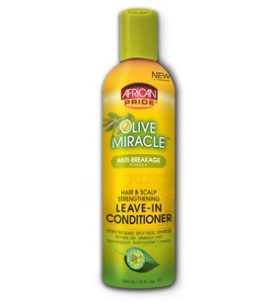 African Pride  Olive Miracle Leave-In Conditionneur