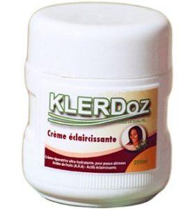Klerdoz Crème éclaircissante