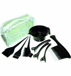 Brittny -Accessoires  kit de coloration- bol+peignes+pinceaux
