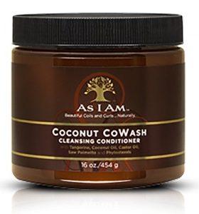 AS I AM Apres-shampoing coconut - Cowash