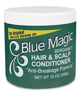 Blue Magic – Hair & Scalp Conditioner - Brillantine à la Bergamote