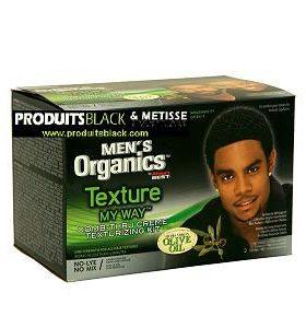 Organics Mens by Africa Best - Kit défrisant homme