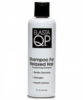 Elasta QP Shampoing pour cheveux défrisés - Shampoo for Relaxed Hair