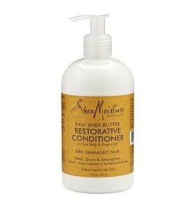 Shea-Moisture  Raw Shea Butter – Aprés-shampooing au beurre de karité