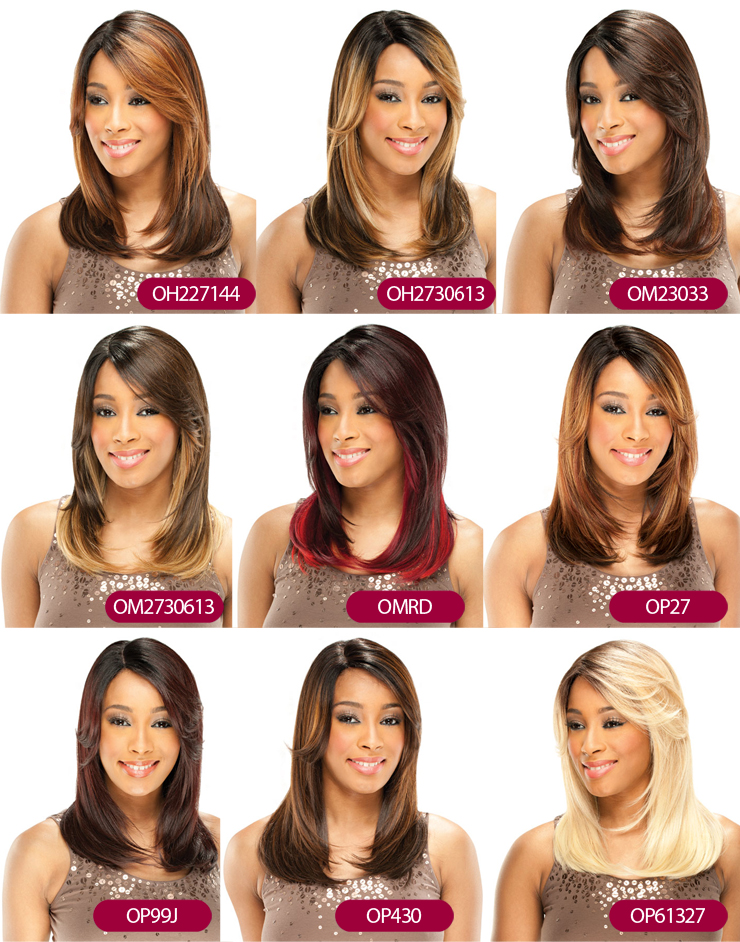 Equal-Freetress lace front wig bailey deep invisible - Part-8