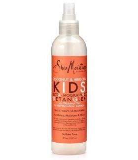 Shea-Moisture Kids Spray d'émêlant ultra-hydratant- coconut-hibiscus