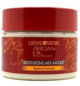 Creme of Nature Masque Réparateur de boucles - Moisturizing Milk Masque