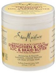Shea-Moisture Strengthen Grow Loc & Braid Butter – Beurre Capillaire-