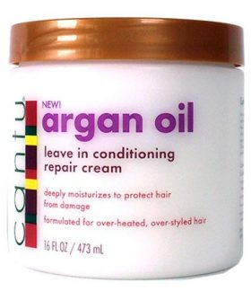 CANTU Crème réparatrice à l'huile d'argan - Argan Oil-Leave in conditioning repair cream