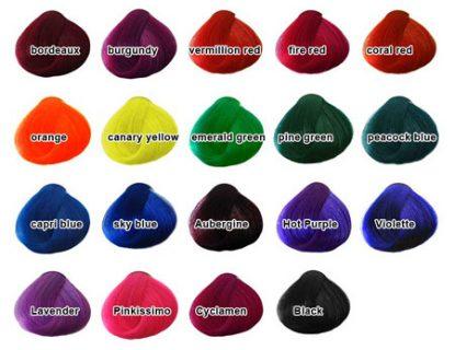 Crazy Color - Coloris