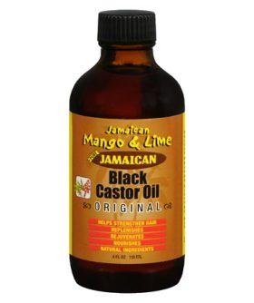 Jamaican Mango & Lime Huile de Ricin – Jamaican Black Castor Oil Original-